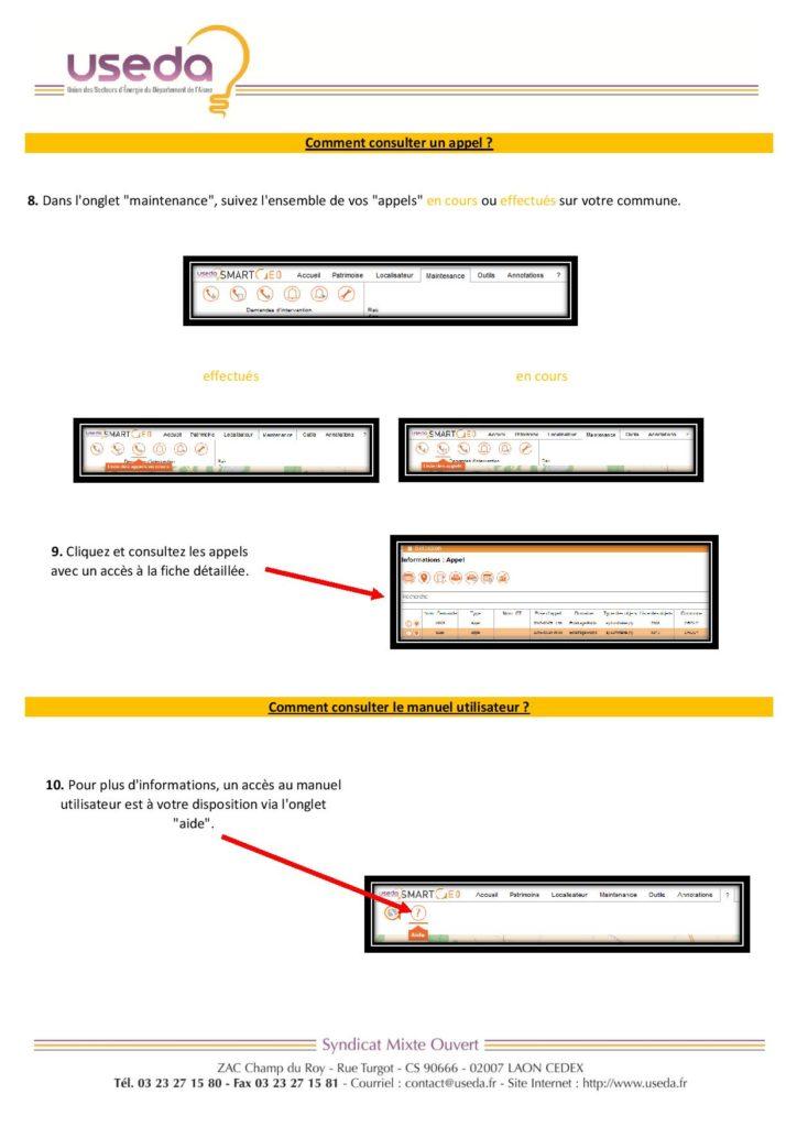 Mode d'emploi dépannage SmartGeo - page 02