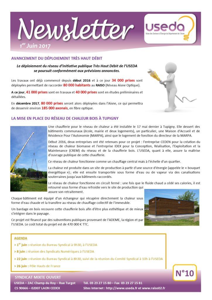 Newsletter USEDA N°10