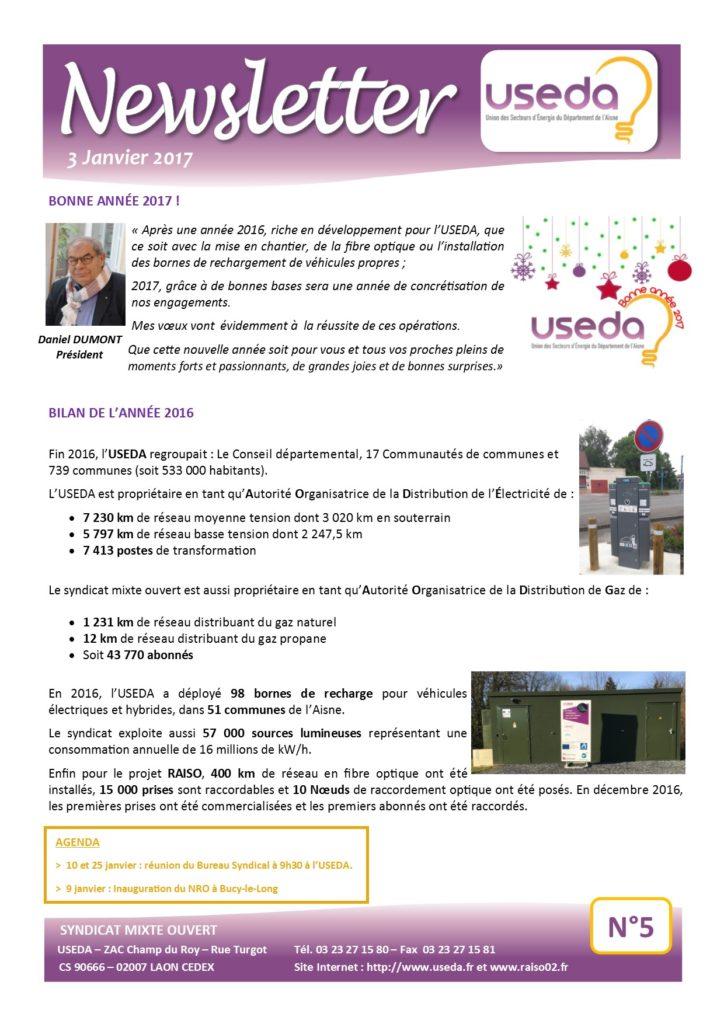 Newsletter USEDA N°5