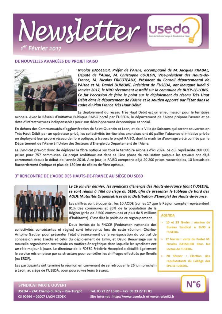 Newsletter USEDA N°6