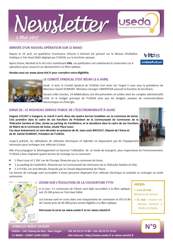 Newsletter USEDA N°9