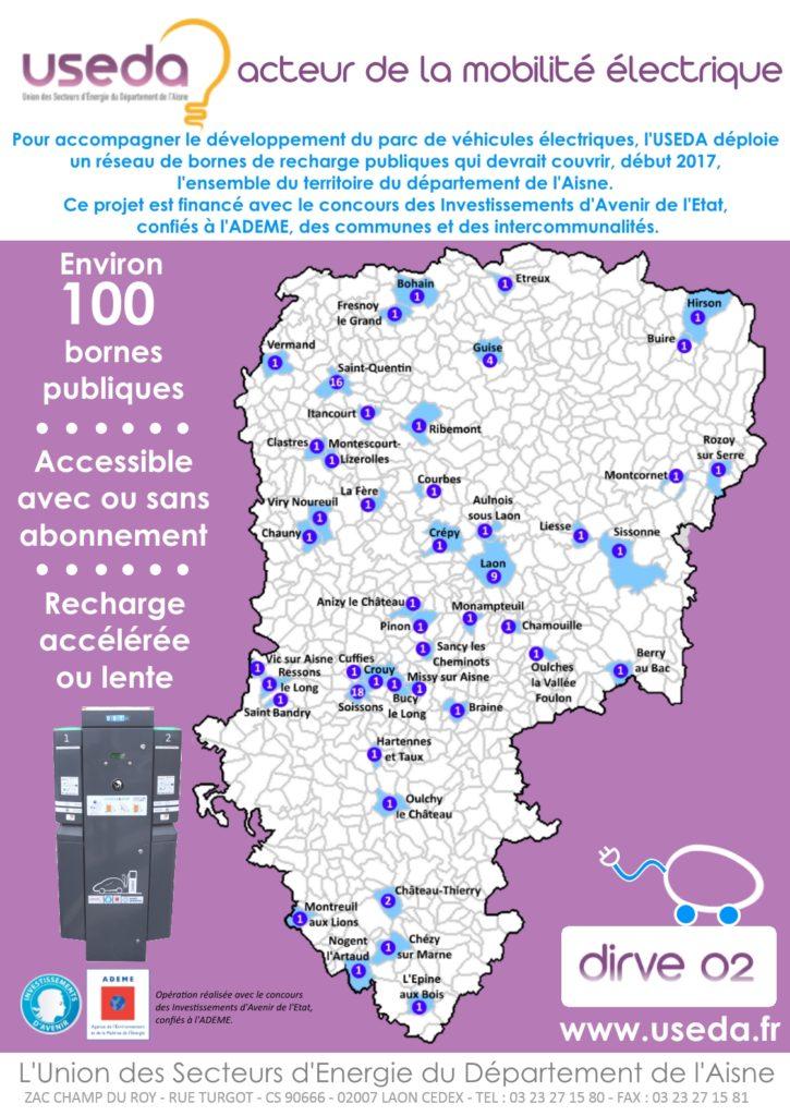 Page pub : L'USEDA acteur de la mobilité électrique