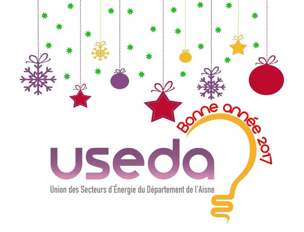 USEDA : Bonne année 2017