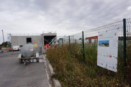 Construction du réseau de chaleur à Sissonne
