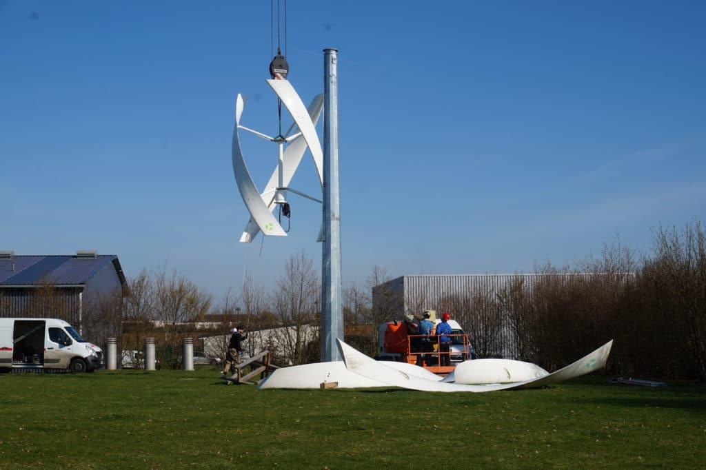 L'éolienne de l'USEDA