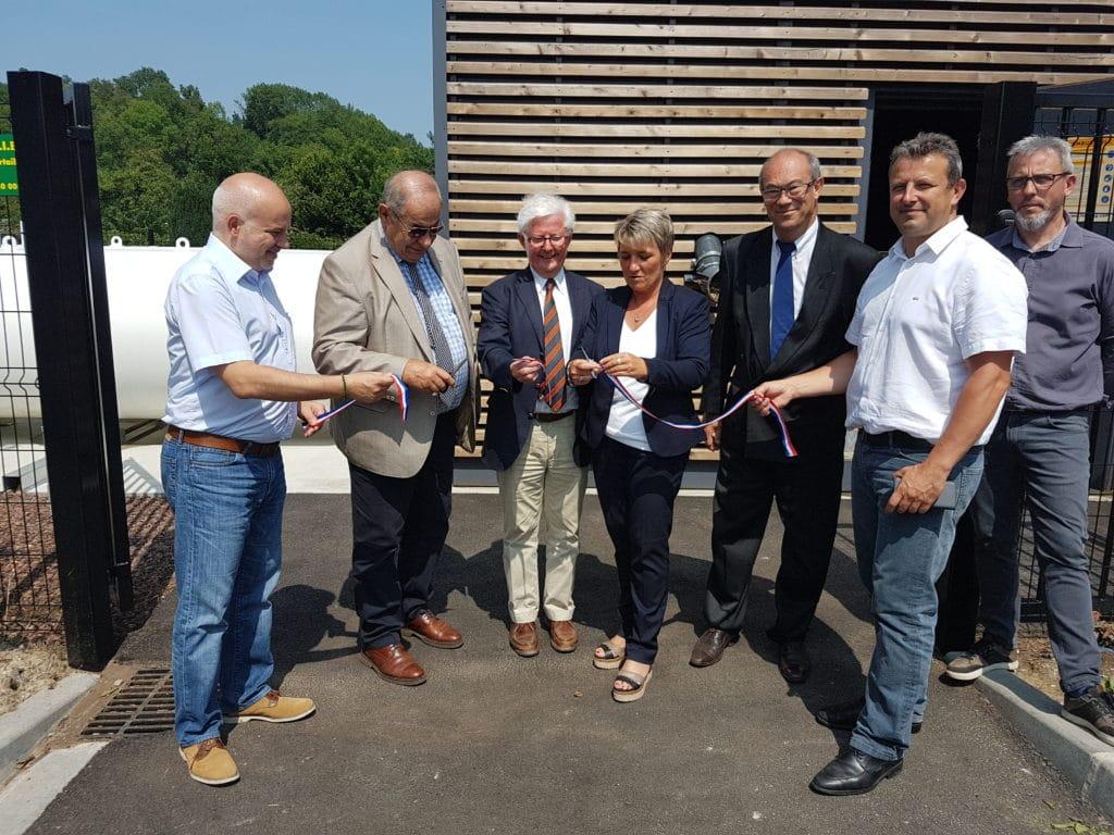 Inauguration de la chaufferie bois de Tupigny le 5 juin 2018