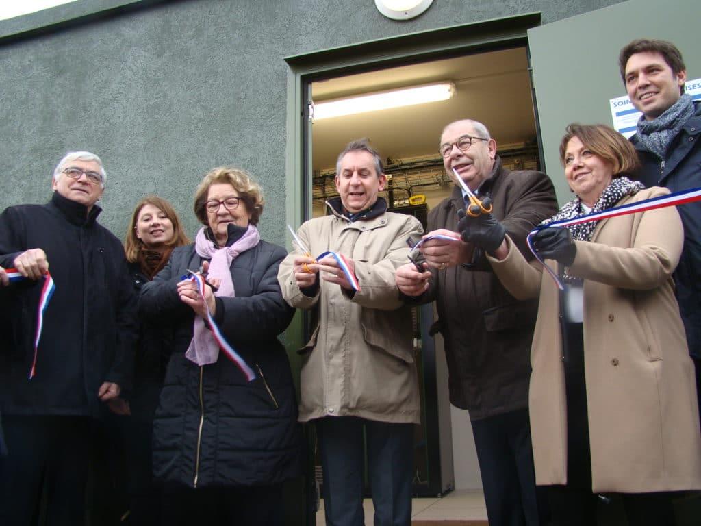 Inauguration du NRO de Chierry, janvier 2018