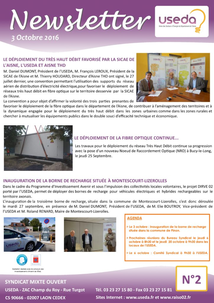Newsletter USEDA N°2