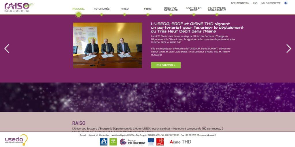 Nouveau site Internet RAISO
